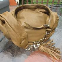 Gucci Handbag Mocha Brown Leather Shiny Brass Hardware New Photo