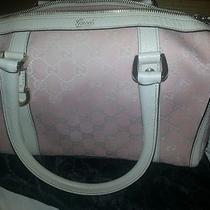 Gucci Handbag New Pink 800 Monogram Purse in Bag Authentic 50%Off Buy Now Photo