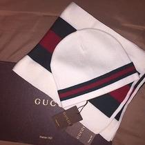 Gucci Hat and Scarf Set (Out of Box Special) Photo