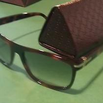 Gucci Havana Tortoise  Unisex Sunglasses Gg 1027/s  Photo