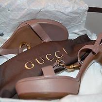 Gucci High Heel Mauve Sandal Photo