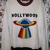 Gucci Hollywood Ufo Crew Sweatshirt White Large See Description & Pics Photo