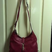 Gucci Jackie Shoulder Bag in Wine Red Colour Photo