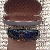 Gucci Ladies Sunglasses Green Crystal/green Photo