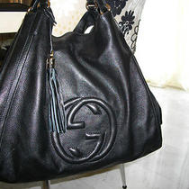 Gucci Large Soho Hobo/bag Black  Photo