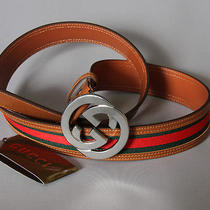 Gucci Leather Belt Size  46/115  Photo