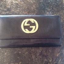Gucci Leather Black Wallet Photo
