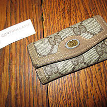Gucci Leather Key Case Key Ring  Photo