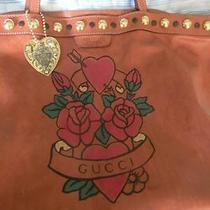 Gucci Leather Tattoo Heart Purse Photo