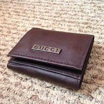 Gucci Leather Trifold Wallet Photo