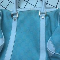 Gucci Light Blue Handbag Photo