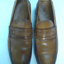 Gucci Loafers Shoes  Men's Size 10  Brown Antiqued Photo