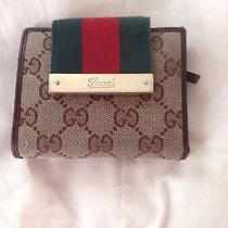 Gucci Logo Wallet With Coin Purse Photo
