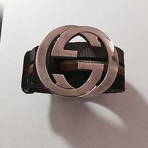Gucci Luxury Belt Brown 85/34 Photo