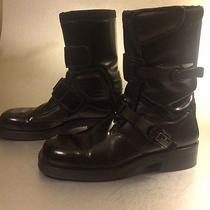 Gucci Men Motorcycle Boots 9 Us Photo