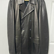 Gucci Mens Leather Jacket Brown Sz52 Us 42 Long Photo
