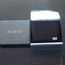 Gucci Men's Wallet - Brown Leather Photo