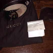 Gucci Mens Belt 38 Photo