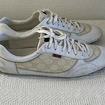 Gucci Mens Leather  Sneakers Mens Size 12 1/2 G Photo