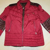 Gucci Mens Red Bomber Jacket 100% Authentic Photo