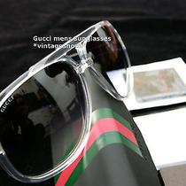 Gucci Mens Unisex Sunglasses Nib Authentic Items Photo