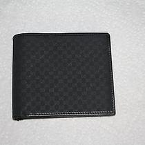 Gucci Mens Wallet Bifold Authentic Photo
