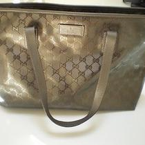 Gucci Metallic Gold Tote Photo