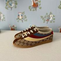 Gucci New Authentic Falacer Gg Sneakers Size 6  Photo