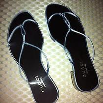 Gucci New Flat Thong Sandal Size 38- 8 Photo