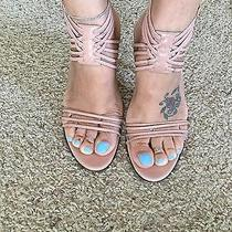 Gucci Nude Blush Strappy Heels Sandals 9 Photo