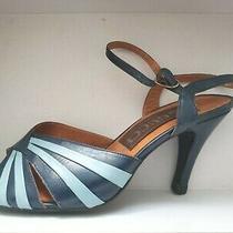 Gucci Open Toe High Heel  Leather Women Shoe Size Us 4 1/2 Photo