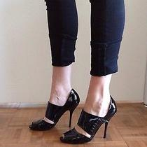 Gucci Patent Leather Corset Heels Size 7 Photo