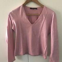 Gucci Pink Long Sleeves Cotton T-Shirt Size Xs  Photo