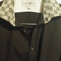 Gucci Print  Luxury Dress Shirt Photo