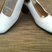 Gucci Pumps Vintage Modern White Slide Sandals Photo