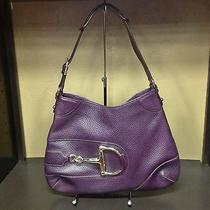 Gucci Purple Leather Handbag Photo