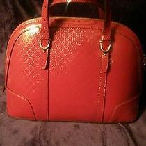 Gucci Red Handbag Photo
