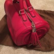 Gucci Red Leather Handbag  Photo