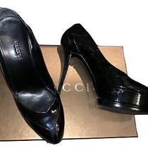 Gucci Shoes Heels Pumps Sz 38 (Us 8 - 8.5) Photo