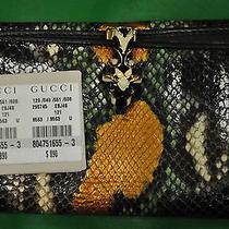 Gucci Snake Skin Wallet Photo