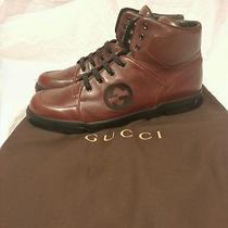 Gucci Softy Tek Burgundy/ Black