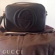 Gucci  Soho Leather Disco Bag Shoulder Bag Borsa Sac Tasche Purse Tote Shopping Photo