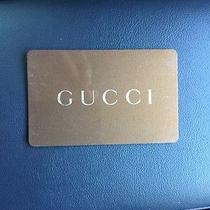Gucci Store Gift Card Photo