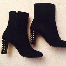 Gucci Suede Studded Boots Photo