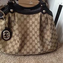 Gucci Sukey Brown Handbag Photo