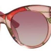 Gucci Sunglasses 3740/s 02f6 Pink Floral Gold 53mm Photo