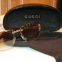 Gucci Sunglasses Brown Gradiant Photo