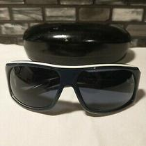 Gucci Sunglasses Gg1556/s Blue/white Frames With Case Pre-Owned. See Pictures Photo