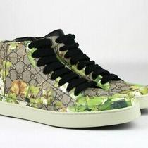 Gucci Supreme Gg Canvas 'Bloom' Print Hi Top Sneakers Shoes Green Size 8 / Us 9 Photo