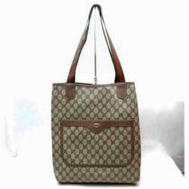 Gucci Tote Bag  Light Brown Pvc 1501164 Photo